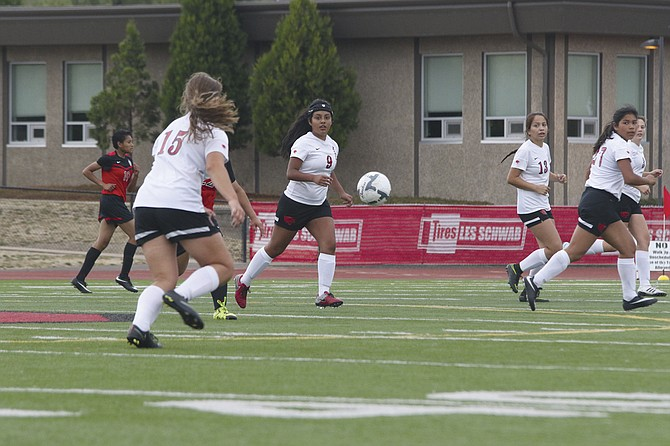 Central's girls soccer earned a 1-1 tie against North Salem on Thursday.