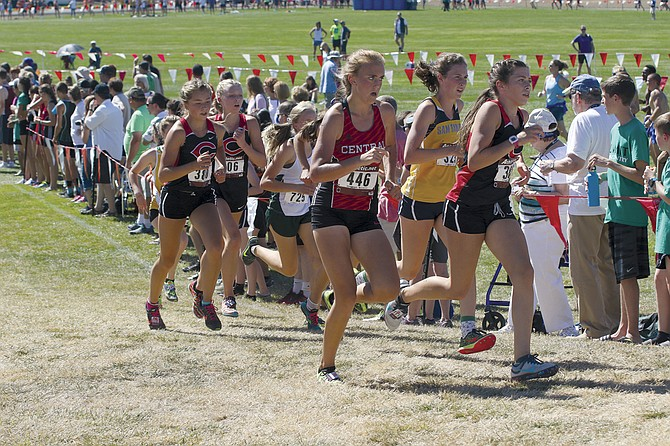 Central junior Bailie Hartford placed 19th at the Ash Creek Cross-Country Festival at Western Oregon University on Saturday afternoon.