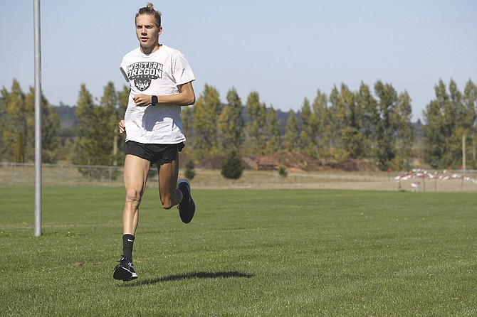 Western Oregon junior cross-country runner David Ribich has two first-place finishes and one second-place so far this season. WOU has competed in three events so far.