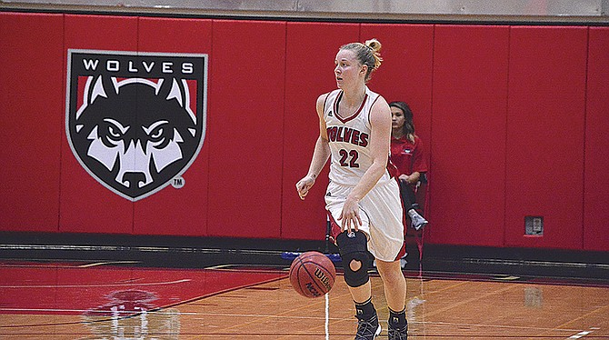 Western Oregon sophomore Kaylie Boschma scored 10 points against Oregon Tech on Saturday. Boschma averages 10.4 points per game, good for third on the team.