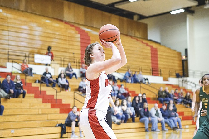 Ali Nelke hopes to become a bigger offensive threat for the Wolves.