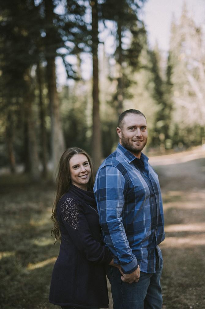 Kaila Webb and Aaron Williams