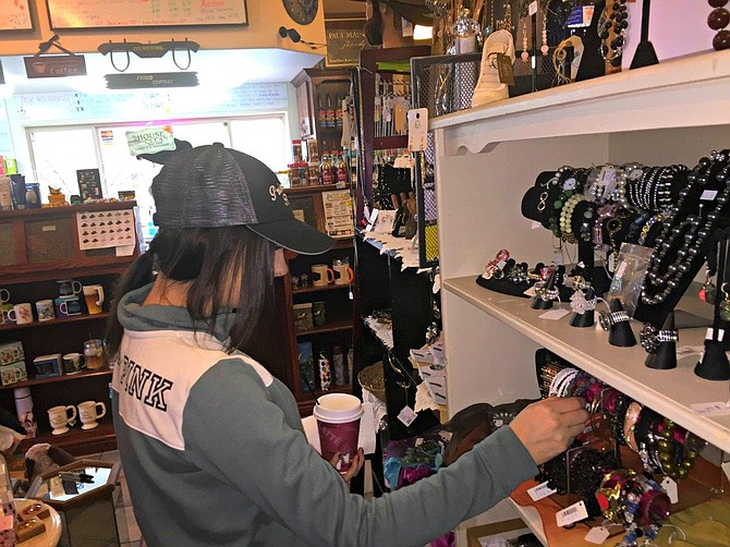 Canyon House in White Bird celebrated its 14th anniversary Saturday, March 18. The shop offers a variety of items for sale.