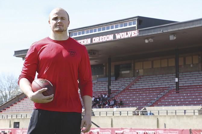Andy Avgi hopes to play professional football.