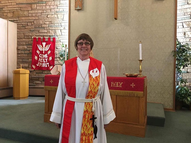 Contributed photo / Rose Mangini Pastor Barbara Essen has served the United Methodist Church locally for the past seven years.