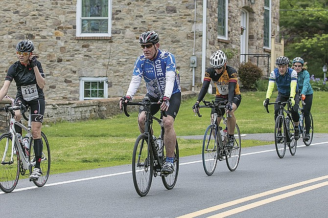 The NPF will host a cycling event at Riverview Park on Sunday.