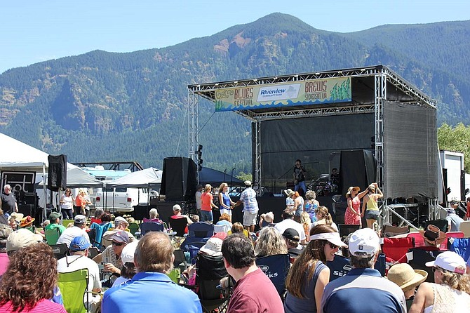 Music lovers will be able revel in continuous live blues music filling the air with bands on two stages during this year's Gorge Blues & Brews Festival in Stevenson on June 23 and 24. (Submitted photo)