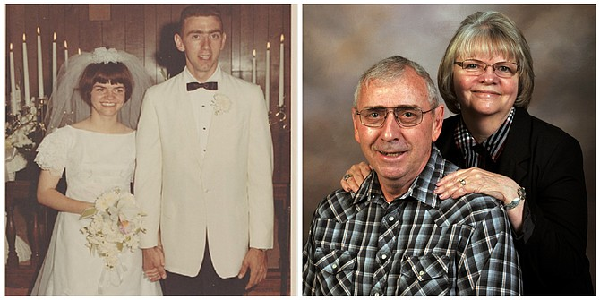 Jim and Jan Adams -- 50 years