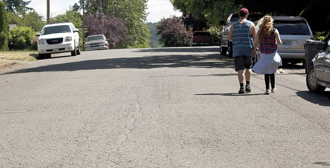 Road work is slated on Hayter Street near Maple Drive, one of the local streets on the list for repair for 2017.