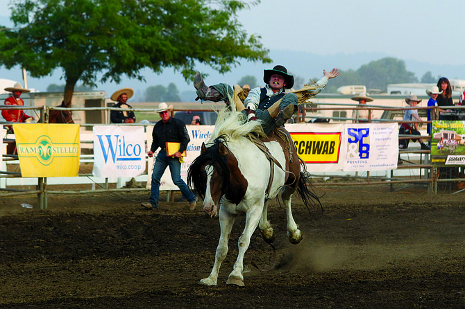 The Rough Stock Rodeo entertained fans on Thursday night.