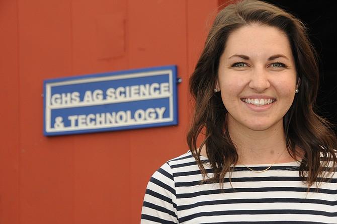 Katie Mosman is the new Grangeville High School agricultural sciences teacher and FFA advisor.