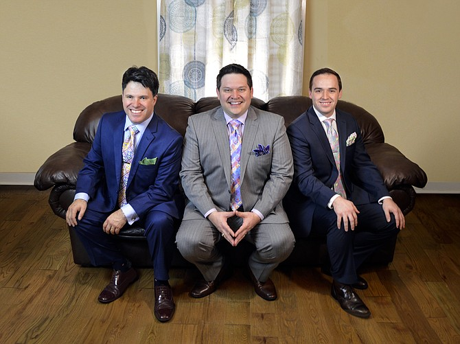 Contributed photo Allegiance trio will present a concert at the United Methodist Church in Grangeville Monday, Oct. 16, 6 p.m.