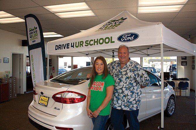 Mid-Valley Ford general manager Jeff Davenport will hold a fundraiser for the booster club.