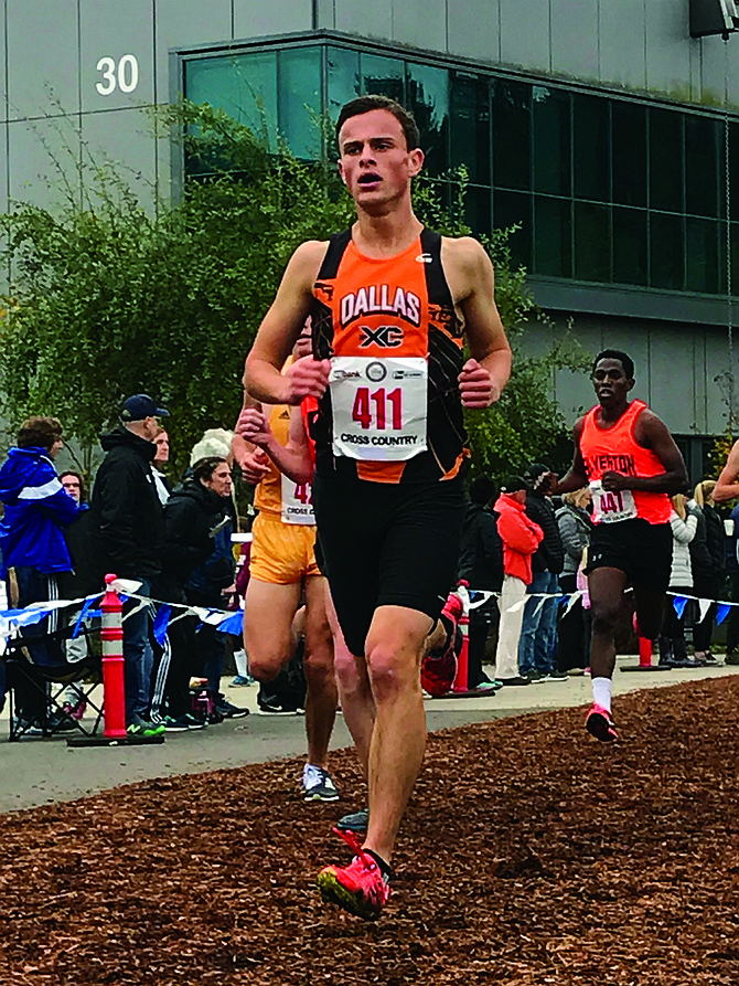 Trevor Cross placed 27th overall at state on Saturday.