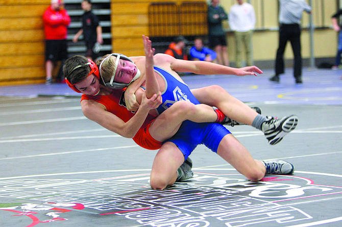 Dallas' wrestling team placed first at the Liberty Invitational.