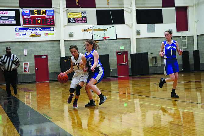 Perrydale girls basketball team defeated Willamette Valley Christian on Thursday.