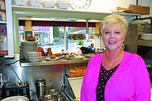 Gay Jones, daughter of Bette's place founder Bette Walters, runs the Hood River institution today.