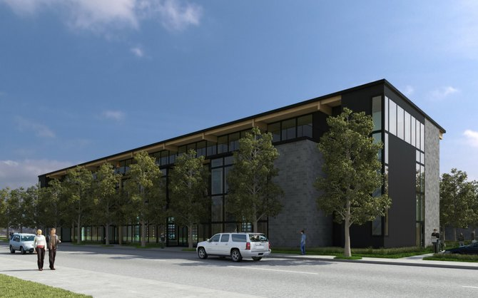 The Portway Avenue building which will house Dakine&#39;s new headquarters this spring.