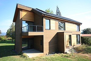 A house eon the 11th annual Green Home tour.