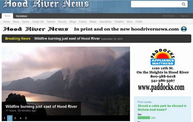 The new hoodrivernews.com