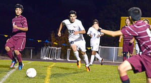 Sophomore Jaime Frias scored four goals in two games this week.