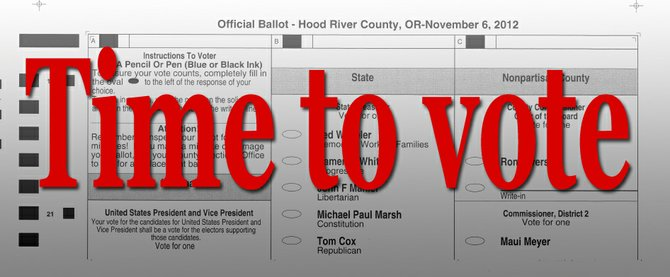 Hood River County mailed 11,745 ballots this month.