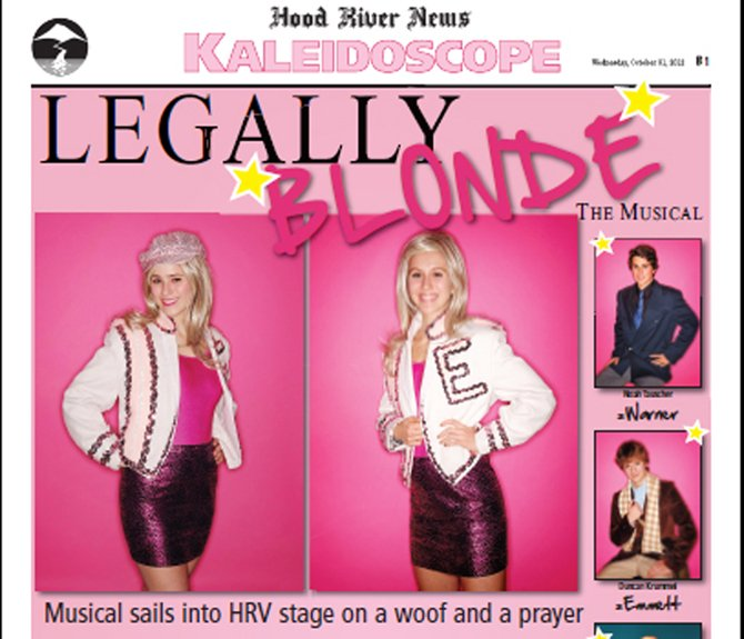 Legally Blonde.