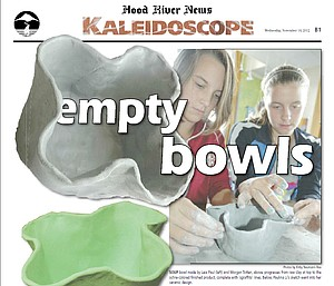 Empty bowls kaleidoscope