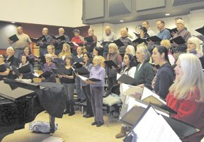 The Voci Community Chamber Choir will perform in concert 2 p.m. Sunday and 7 p.m. Monday at Hood River Valley High School's Bowe Theater.