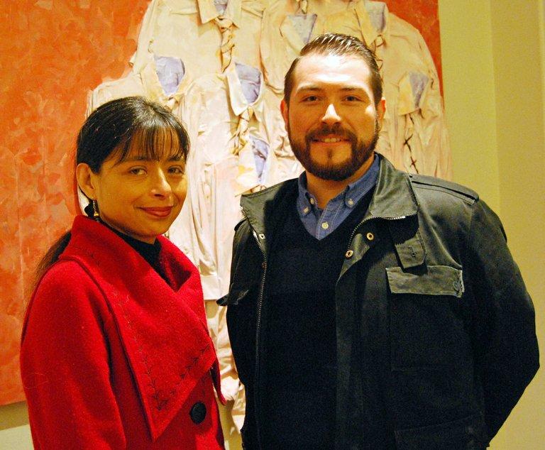 Jilma Meneses and Mario Mesquita