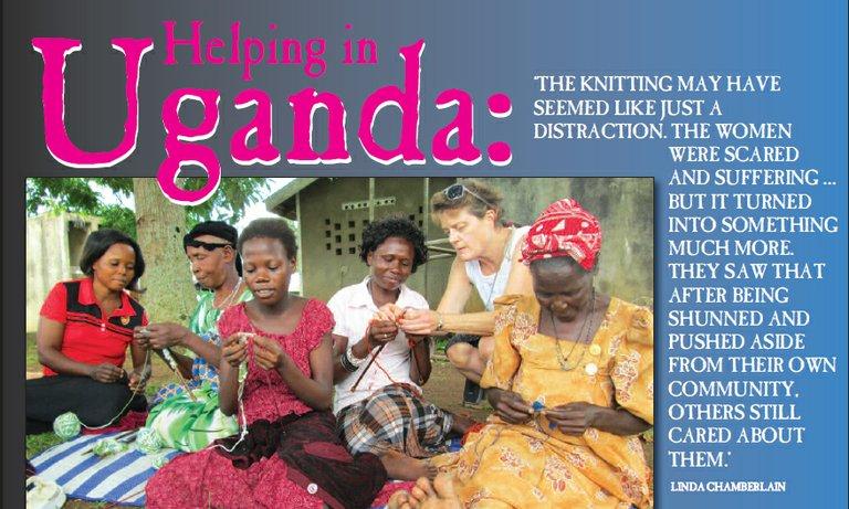 Helping Uganda