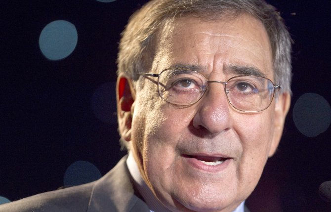 Secretary of Defense Leon Panetta speaks about suicide prevention June 22, 2012, at the annual Suicide Prevention Conference held by the Dept. of Defense and Veterans Administration, in Washington. Suicides in the U.S. military surged to a record 349 in 2012. 	AP Photo/Jacquelyn Martin