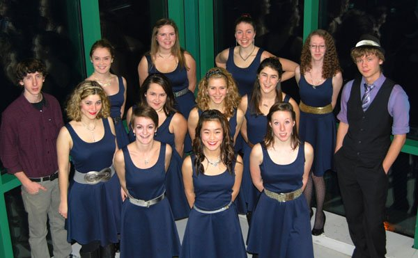 Aurora, the new Hood River Valley High School pop vocal ensemble.