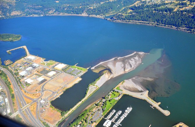 Developers will retain the ability to put in residential on Hood River waterfront C-2 zones -- as long as it is not on the first floor of the building and occupies less than 50 percent of the building.