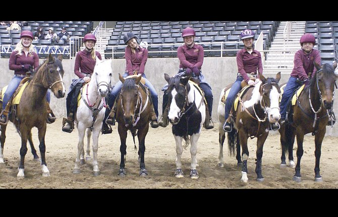 TDW equestrians pose for a group shot after performing at an event last season in Redmond. With a group of returners back in the fold, the Tribe is primed to make some noise this spring.  Marie Cordell/Contributed photo