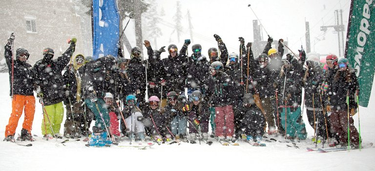 fresh snow this week will give HRVHS skiers (pictured here at Mt. Hood Meadows) a solid base for the rest of the season.