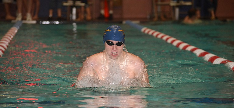 HRV swimming sends 20 swimmers to state this year, including four time qualifier Connor Webb.