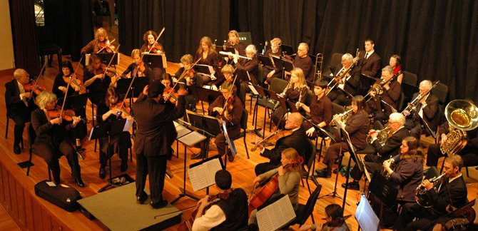 The Columbia Gorge Sinfonietta winter concert series will be held Friday at 7:30 p.m. in The Dalles Civic Auditorium and Sunday at 1:30 p.m. at Wy'east Middle School's performing arts center.