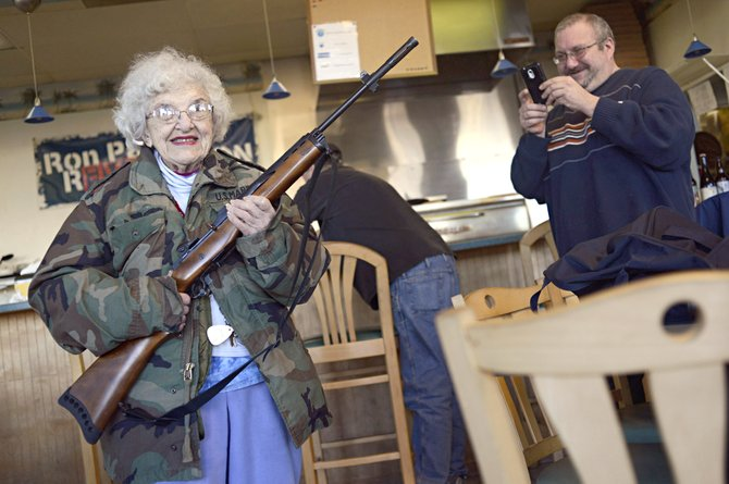 Armed Customers Get Deal