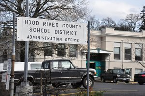 Hood River County School District Administrative offices.