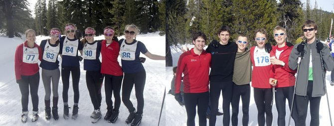 state racers: HRV Nordics top six boys and girls traveled to Bend last weekend for the 2013 OHNSO state championships. Pictured are boys racers Billy Edwards, Mason McDowell, Sam Wiley, Daniel Fischer, Nils Engbersen, Alex Chadney and girls racers Petra Knapp, Denali Emmons, Eva Kahn, Victoria Kohner-Flanagan, Delia Dolan, Miranda Starr. 