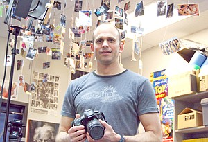 HRVHS multimedia teacher Shawn Meyle has used his Innovative Teaching grant funds to purchase a state-of-the art digital camera with video capabilities for student projects. Meyle completed the camera equipment package by purchasing the remaining components himself – a practice quite common for most teachers who seek to add technology or equipment in tight budgetary times.