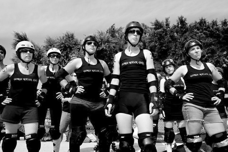 Gorge roller girls are ready for their first home bout on March 16.