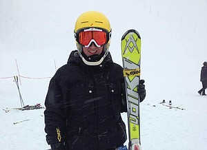 Korey Cimock earned the girls overall state ski title last week at SkiBowl. The HRVHS junior finished second in slalom and third in giant slalom to take the combined title.