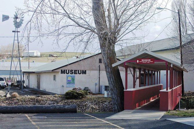 SHERMAN COUNTY Historical Museum is using Strategic Investment Program payments to repair and improve its walls.