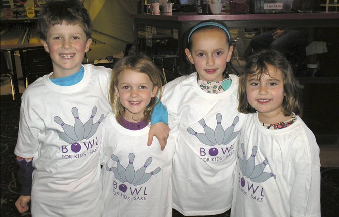 Little Kids, Big Money: Riley and Lucy Dierker, and Melanie and Elana Glatter of the Eastside Rollers raised a combined total of $991.50 by emailing friends and relatives asking for support. It was that easy.