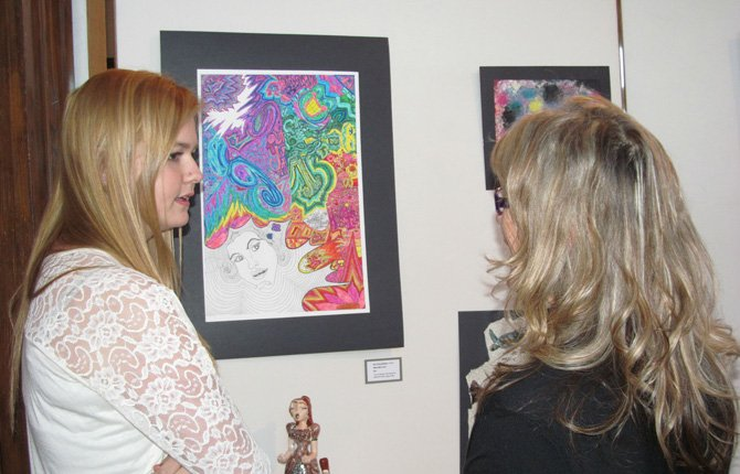 Student Art Show in March