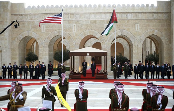 Obama visits Jordan