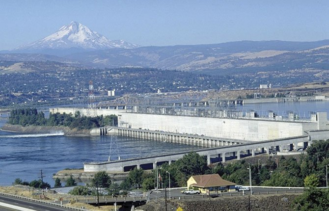 THE DALLES Dam is one of 20 being evaluated by engineers for posssible damage if a major offshore earthquake were to occur.