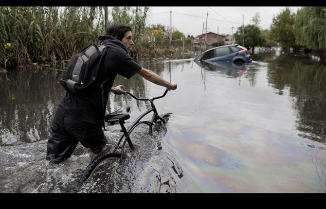 Rains Flood Argentina